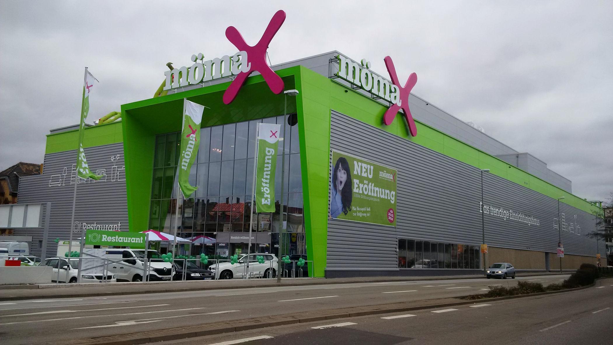 50 Mömax Eröffnet In Kaiserslautern Mömax Feiert Sein 50