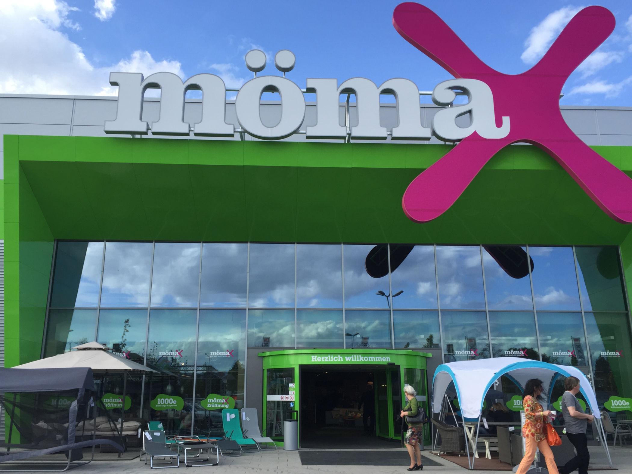 Mömax Eröffnung In Wiesbaden Das 46 Mömax Einrichtungshaus